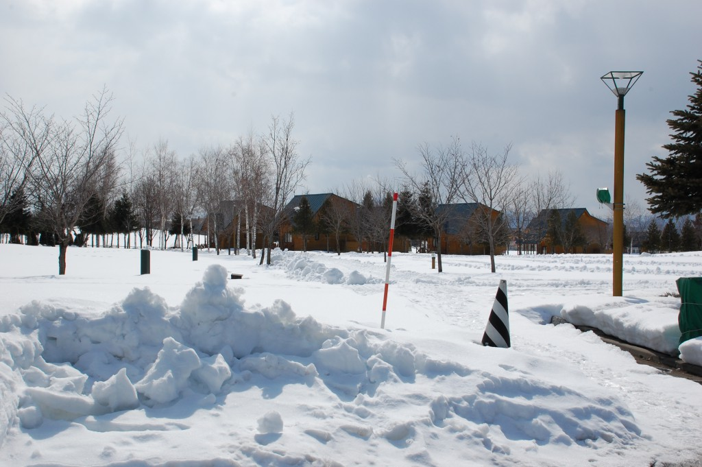 キャンプ場の今の風景